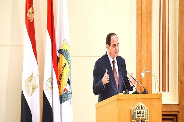 الرئيس السيسي يؤكد بمناسبة الاحتفال باليوم العالمي لمكافحة الفساد تمسك الدولة قيادة وشعباً بسيادة القانون